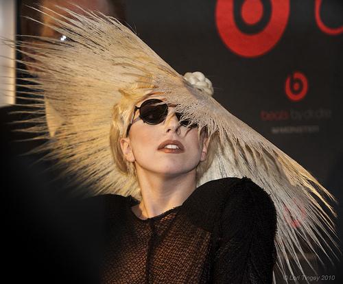 Lady Gaga Photo by Domain Barnyard, flickr.com