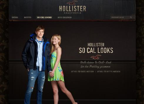 Screenshot hollisterco.com