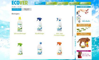Screenshot ecover.com