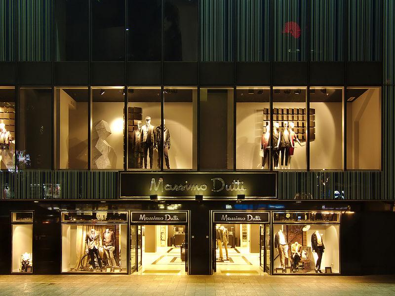 Massimo Dutti Filiale Shop