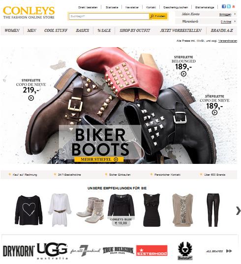 Conleys Online Shop Mode Kaufen Bei Modezoo