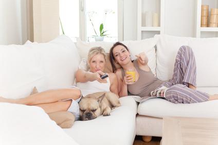 fernsehen couch