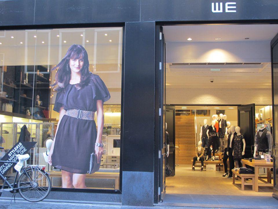 we fashion eingang einer filiale