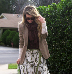 long skirt and blazer-5